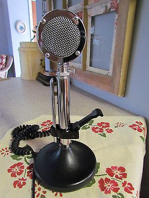 Beautiful  Astatic D 104 Black Special CB Radio or Ham Mic With  Lazy Key