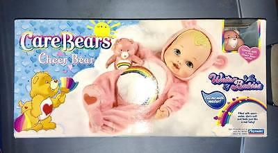 Care Bear Cheer Bear water babie doll!