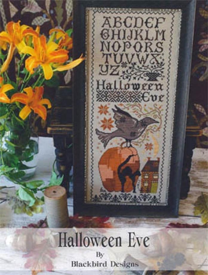 Blackbird Designs Counted Cross St. Chart    Halloween Eve