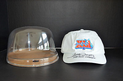 Tony Dungy Signed Autograph Hat Football Colts Super Bowl XLI 41 Champs