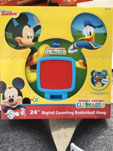 Mickey Mouse Basketball Hoop