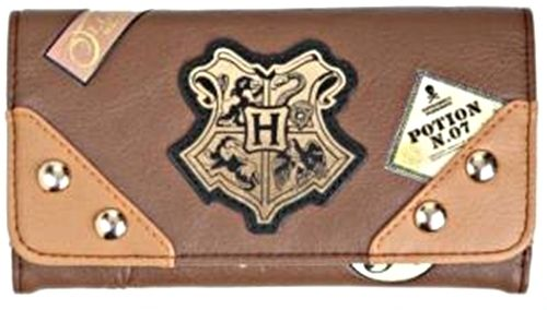 Harry Potter Trunk Sticker Snap Flap Wallet Clutch New with Tags