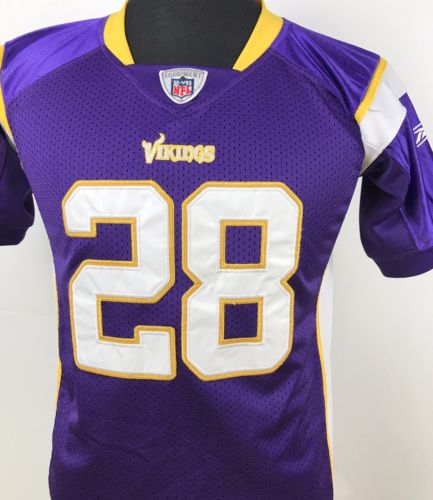 Minnesota Vikings Adrian Peterson #28 NFL Stitched Football Jersey Youth Large