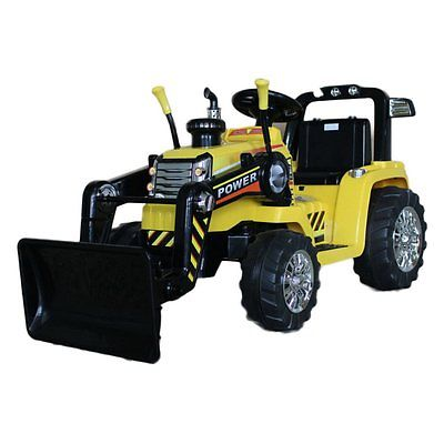 Best Ride on Cars 12V Battery Powered Ride On Tractor, Yellow, 12 Volt