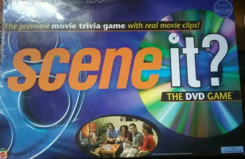Brand New Sealed Scene It DVD Game
