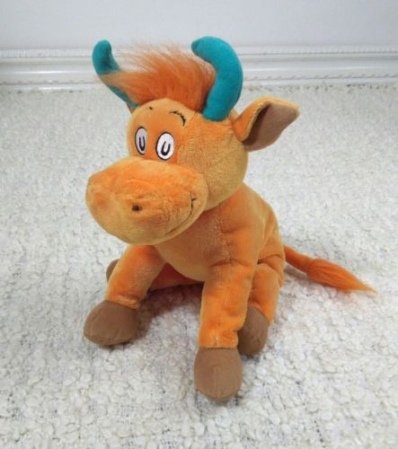 Kohls Cares Dr Seuss Mr Brown Can Moo Can You Orange Blue Cow Bull 12