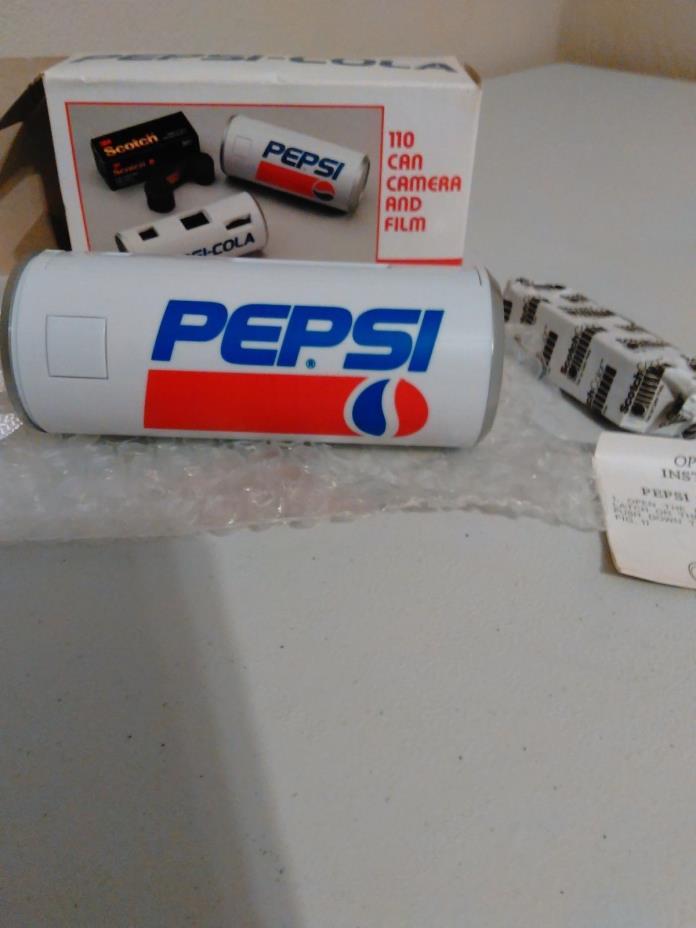 Pepsi Cola Can 110 Film Camera Advertising Soda Pop New