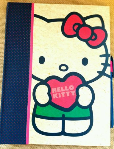 Hello Kitty Journal Memo Book With Matching Marker