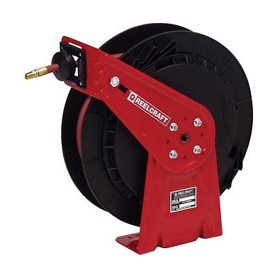 Reelcraft Lightweight High Pressure Grease 3/8 in. Hose Reel, 50 ft.
