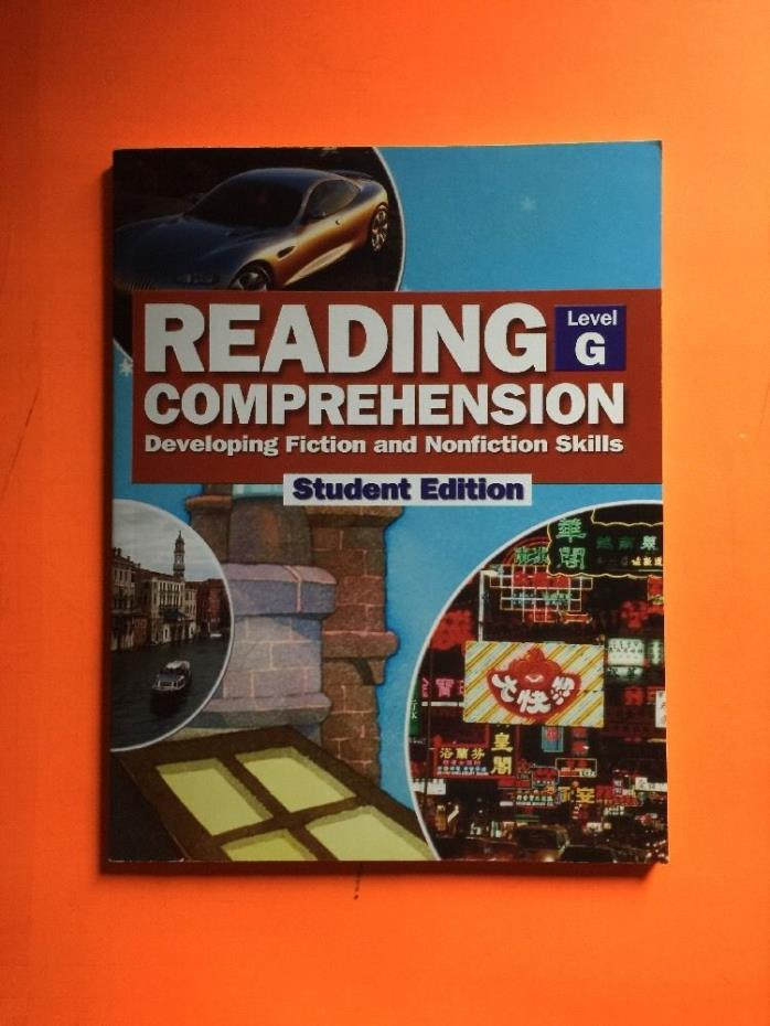Reading Comprehension Developing Fiction & Nonfiction Skills Level G STUDENT Ed