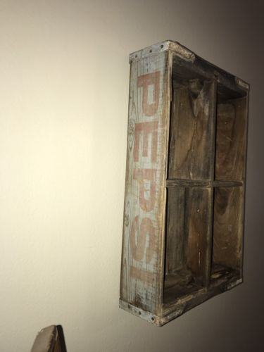 Antique Pepsi Crate