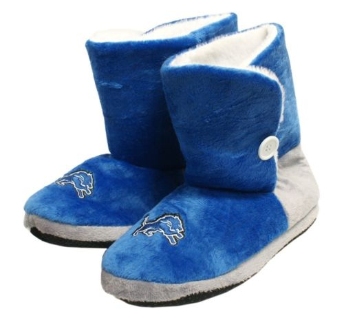 Detroit Lions Slippers - Womens Boot