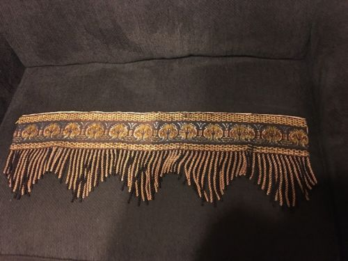Antique Fringe Trim for Lamp Shades or Curtains