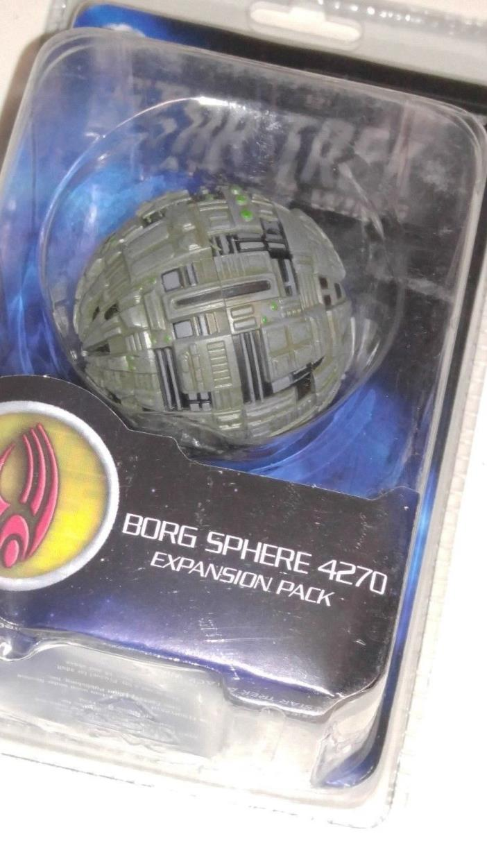 Star Trek Attack Wing (WizKids) Borg Sphere 4270 Expansion Pack