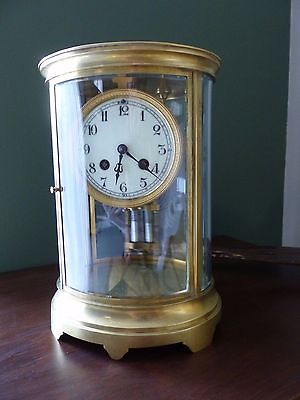 Antique French Eight Day Mantle Clock