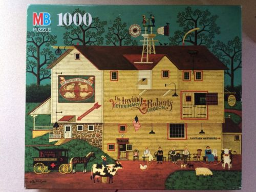 Charles Wysocki Dr. Irving Veterinary puzzle 1000 Piece