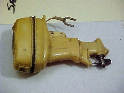 Battery Operated Toy Boat motor old 40 horse Johnson