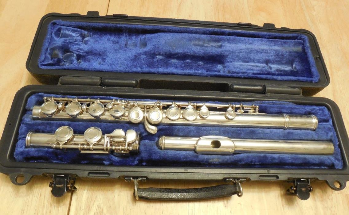 Selmer USA Student Silver Plated Flute C Foot