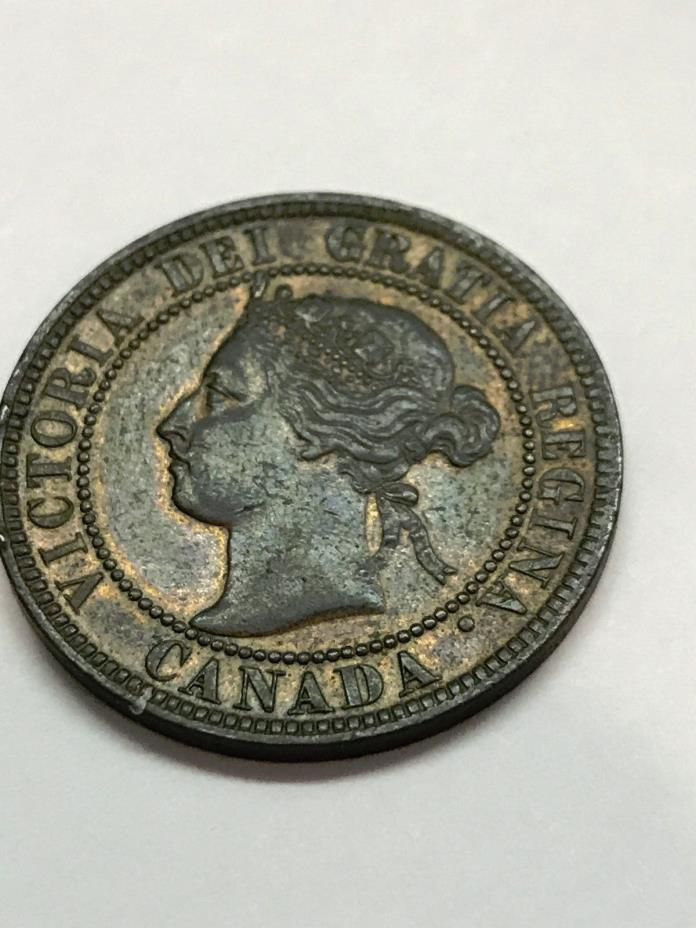 1899 Canada One Cent XF #2233