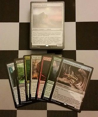 MTG Magic the Gathering Cards BULK LOT 100 Rare/ Mythic NM-MT No Dup's