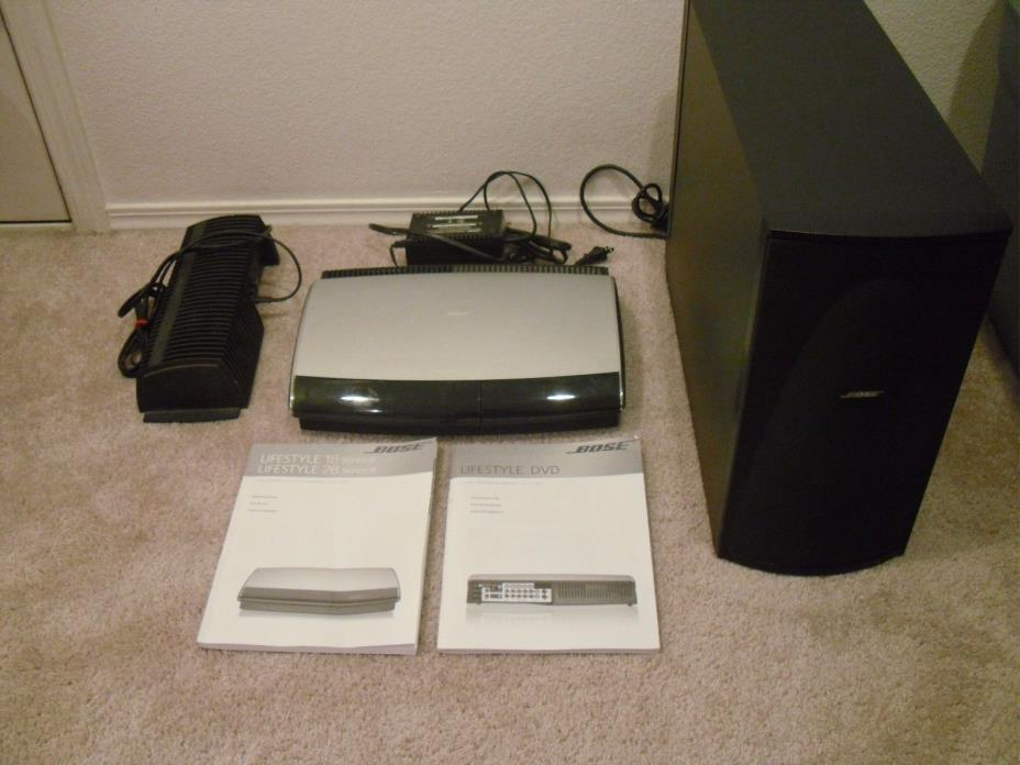 BOSE LIFESTYLE 18 SOUND SYSTEM PS 18 SERIES II SUBWOOFER