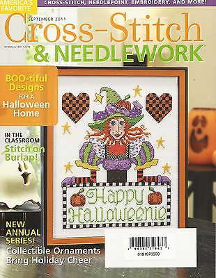 CROSS-STITCH & NEEDLEWORK MAGAZINE-SEPTEMBER 2011--Counted Cross Stitch Pattern