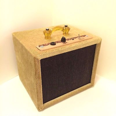 1W Tweed Mini Travel Guitar Amp