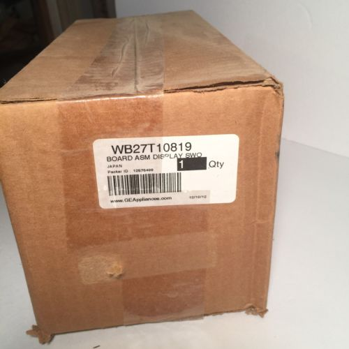 Genuine OEM WB27T10819 GE Range Display Board Asm SWO
