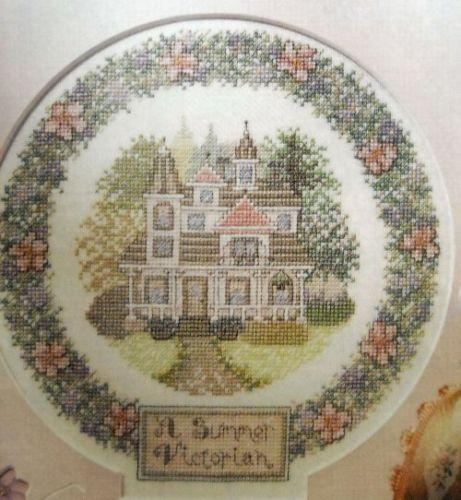 A Summer Victorian Counted Cross Stitch Magazine Pattern BG30