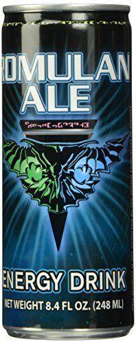 Star Trek Romulan Ale Energy Drink Sealed Unopened 8.4 oz Can