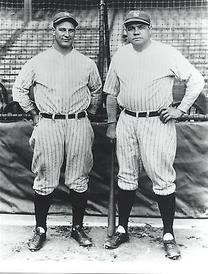 BABE RUTH & LOU GEHRIG - 8