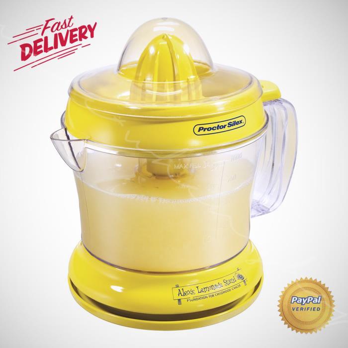 Electric Citrus Juicer Orange Fruit Lemon Squeezer Extractor Juice Press Machine
