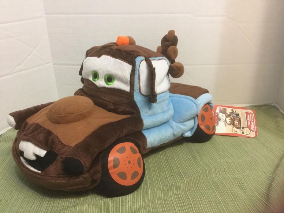 Disney Pixar Cars Tow Mater Pillow 16