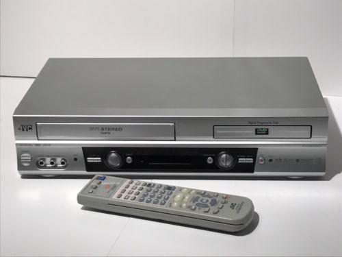 JVC DVD VHS HR-XVC25U Hi-Fi Stereo VHS Recorder VCR DVD Player Combo