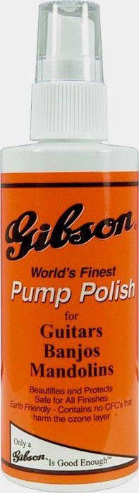 Gibson World's Finest Pump Polish for Guitar Banjo Mandolin 4 oz. Brand New