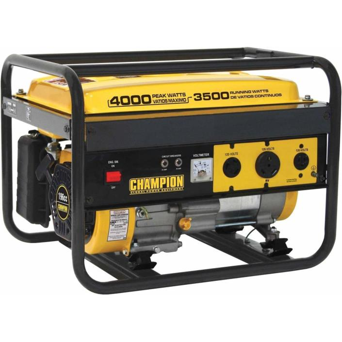 Generator Champion Power Equipment 46533 3500 Watt RV Ready Portable Generator