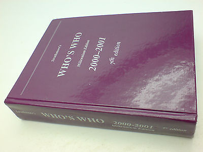2000 - 2001 Strathmore's Who's Who Millennium 7th Edition 189034706x