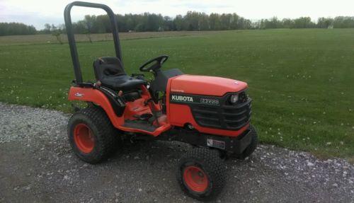 Kubota BX2200 4x4 Compact Diesel Tractor