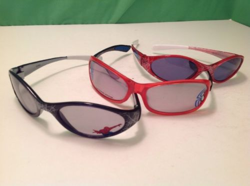 3 pair of youth Spider-Man Sunglasses for the Beach!