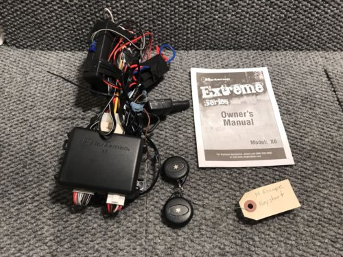Marksman Extreme Series X6 Remote Start System USED Two Remotes
