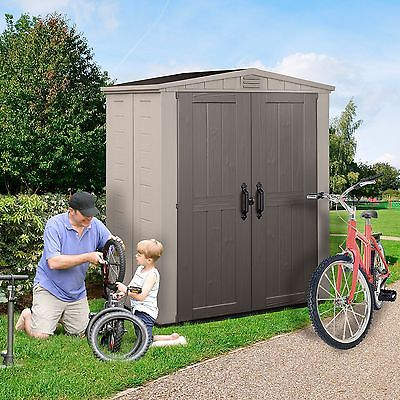 Keter Factor 6 x 3 ft. Storage Shed