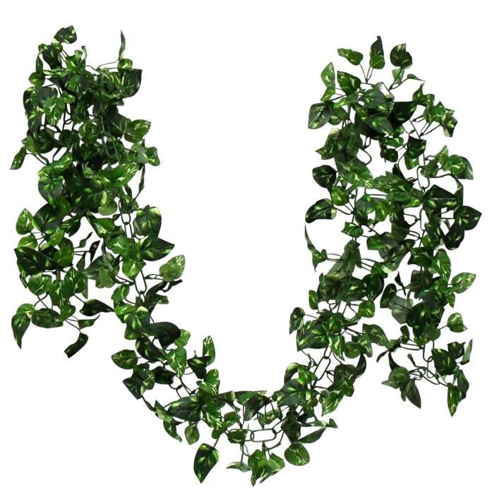 6.5' Greenery Pothos chain garland Ivy Silk Wedding Flower Arch Decor x 400