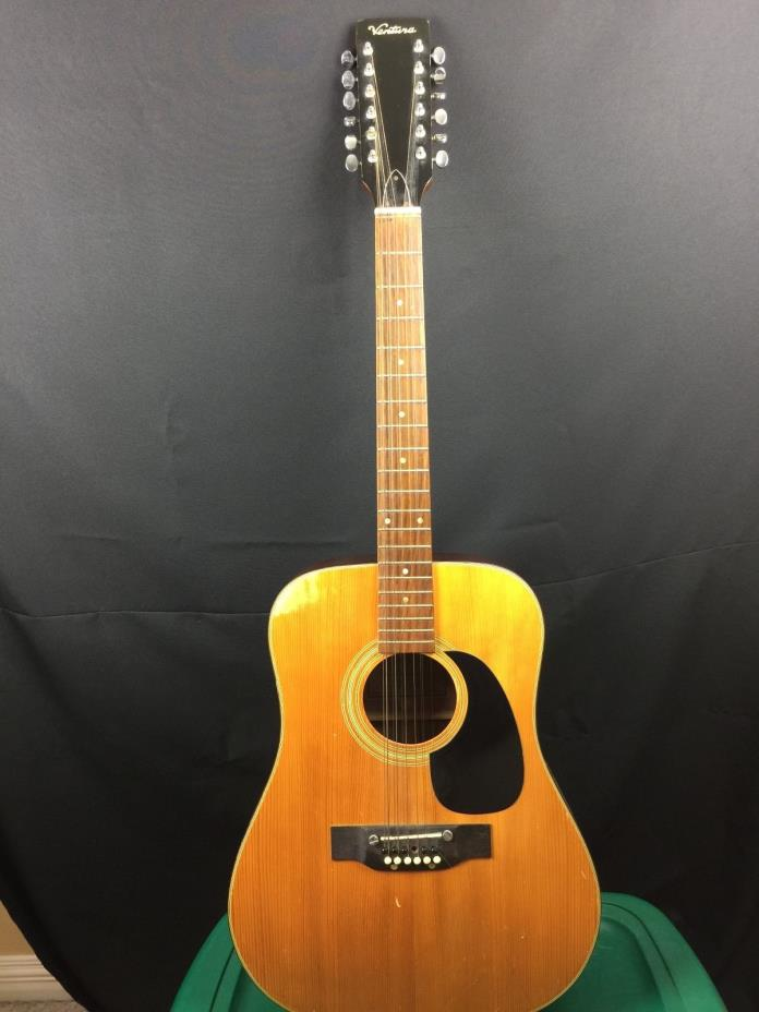 Ventura 12 String Acoustic  Guitar Natural
