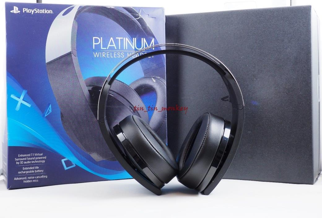 Official Sony PlayStation 4 PS4 Platinum Wireless Headset