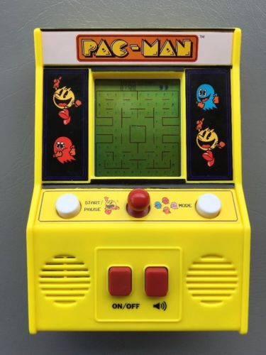 Mini Pac Man Arcade Game Pacman Machine Handheld Vintage Namco Bandai
