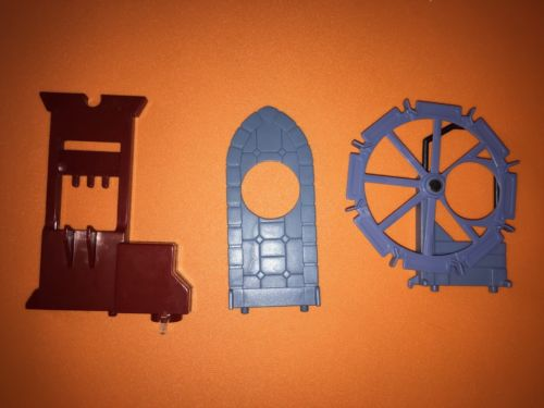 Harry Potter Levitating Challenge Replacement Paddle Wheel Guillotine Hole Wall