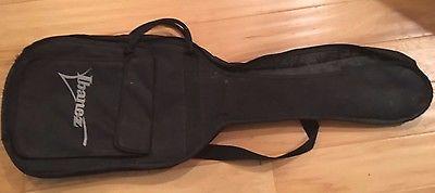 Ibanez Electric Guitar Soft Case Gig Bag Black