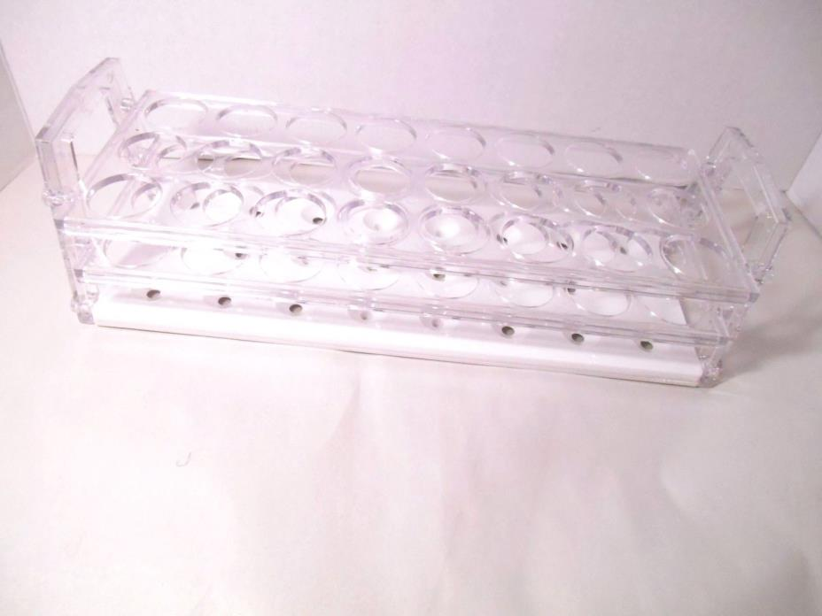 NALGENE 30 MM, 24 Hole Plastic Rack