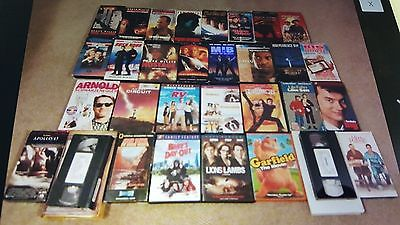 Lots of 43 VHS and CD movies