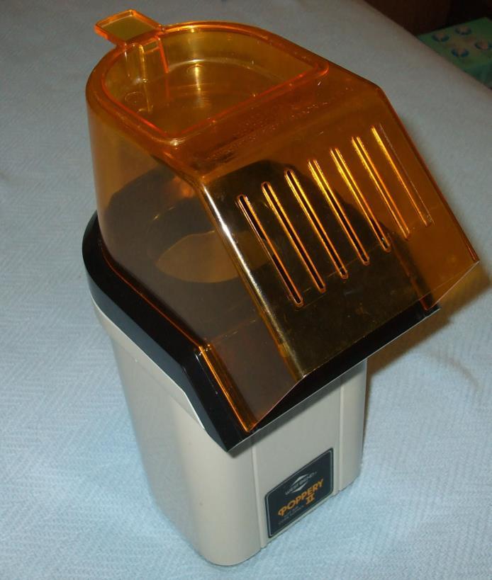 Vintage West Bend The Poppery II Popcorn Popper Coffee Bean Roaster 1200W 82102